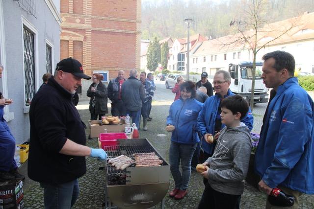Rausgeputzt - Naumburg & Bad Kösen räumen auf! am 6. April 2019