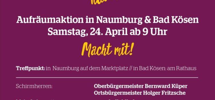 Rausgeputzt – Naumburg räumt auf!
